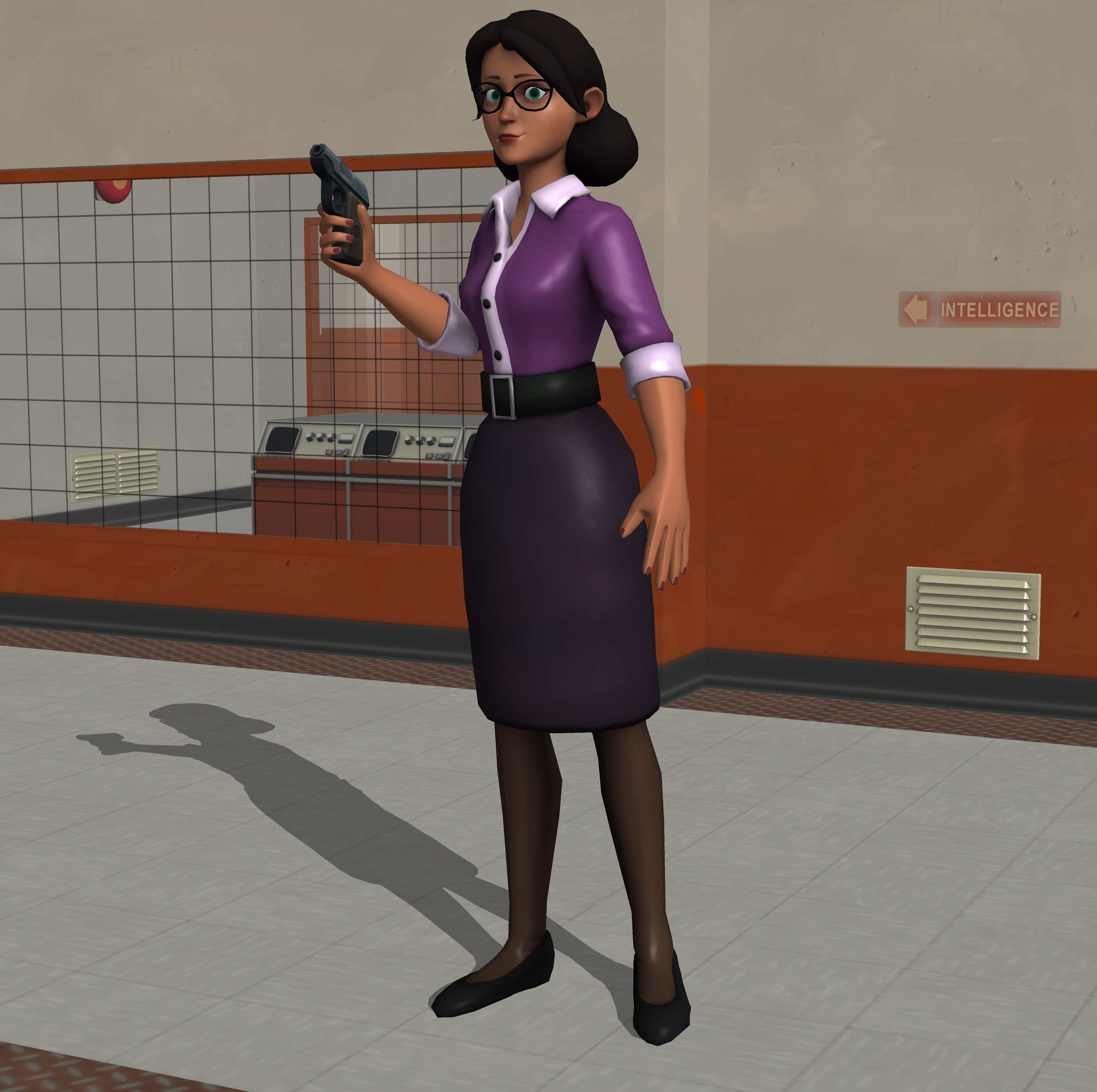 Miss Pauling by enterprisedavid