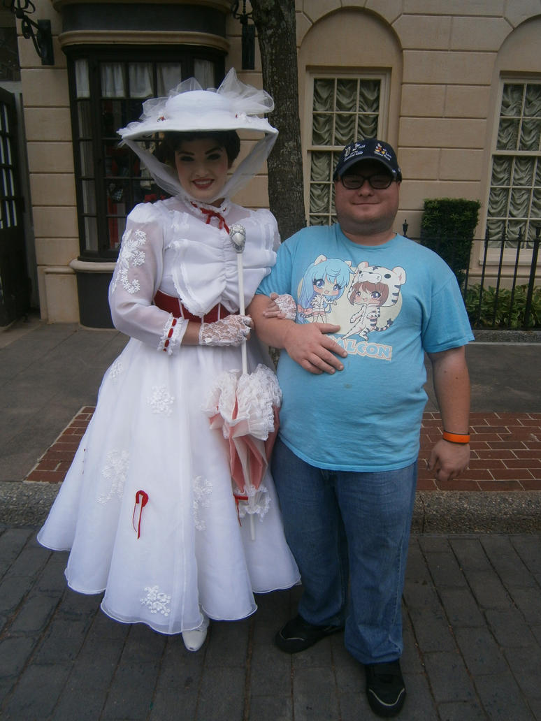 Me and Mary Poppens by enterprisedavid