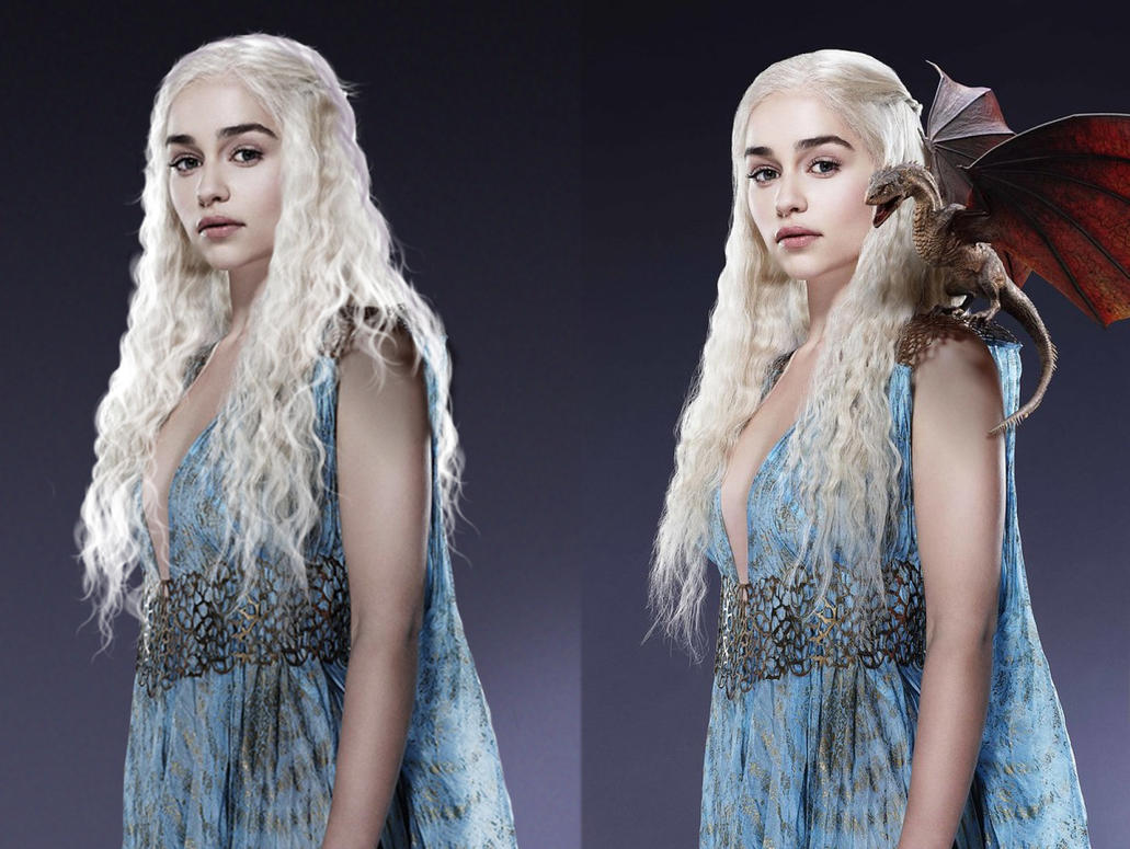 daenerys targaryen blue white - photo #31