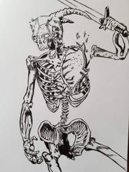 Skellybob from Conan the Barbarian comic by DeathRipperArt