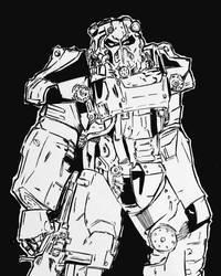Fallout Power Armor by DeathRipperArt
