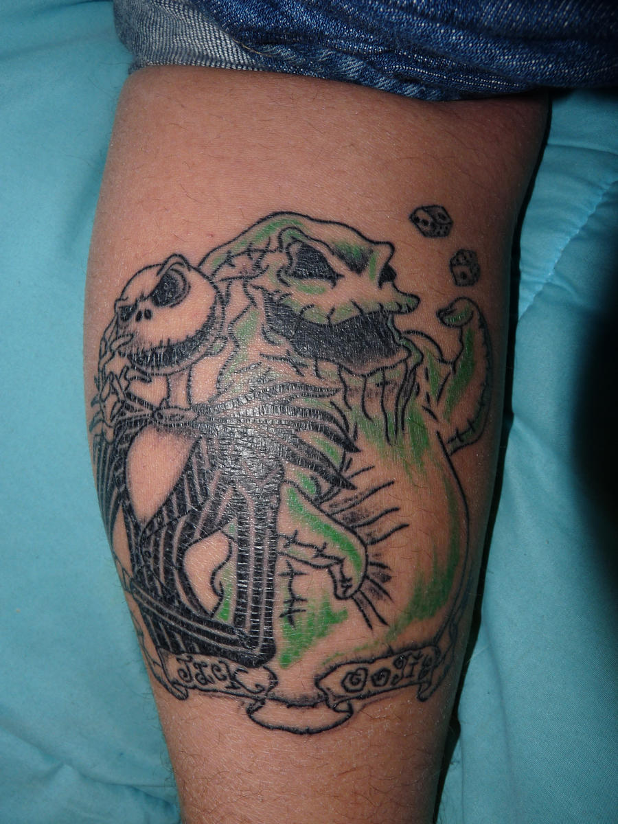 Oogie Boogie Nightmare Before Christmas Tattoo, 17 Best images about ...