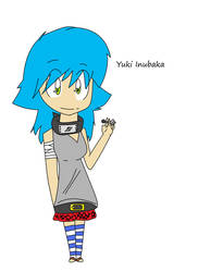 OC:Yuki Inubaka Shippuden by collie1