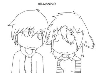 SE OC:BladeXNicole by collie1