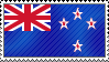 New Zealand Flag Stamp by ArchieC