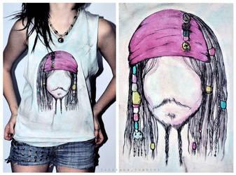Jack Sparrow shirt by XinevitableXloveX