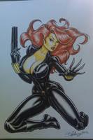 Black Widow by Cameron Blakey by cameronblakeyart