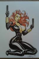 Black Widow 2 by Cameron Blakey by cameronblakeyart