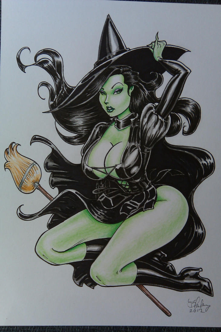 Wicked Witch of the West by Cameron Blakey by cameronblakeyart