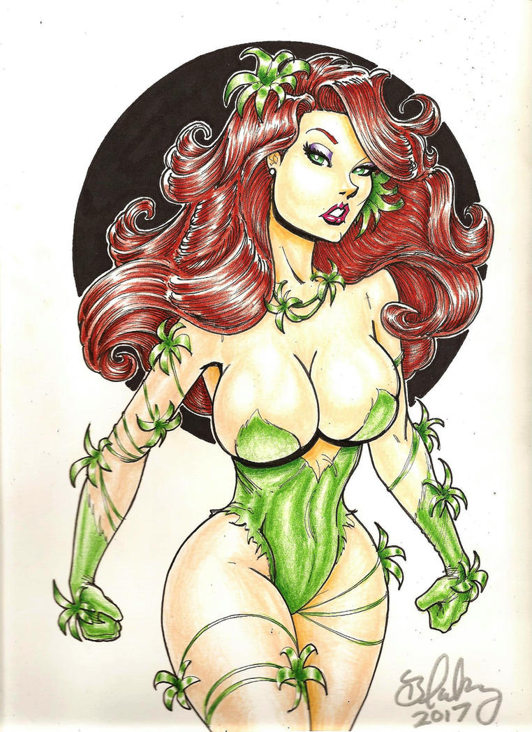 Poison Ivy by Cameron Blakey by cameronblakeyart