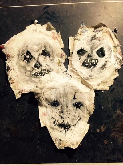 Halloween Masks by DEDArt