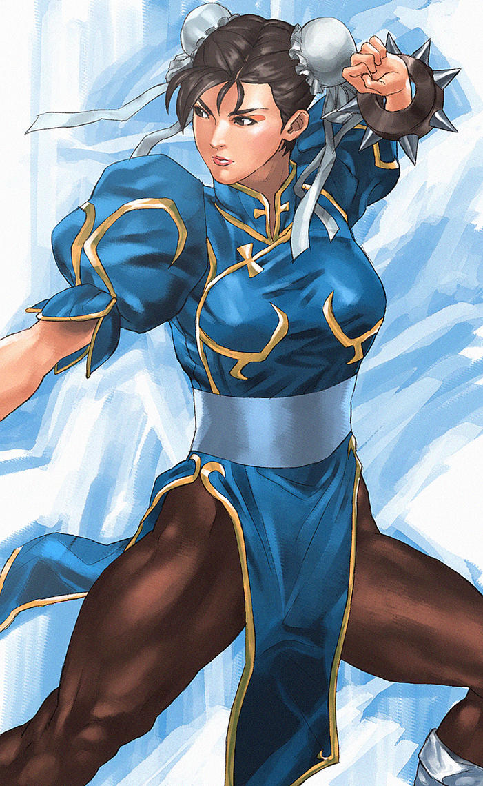 Chun-Li by Mad1984