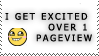 :stamp: - Yay, one pageview by mewmewmewichigo