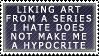 Fan-art Stamp by mewmewmewichigo