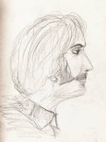 John Lennon drawing from 1960s by angelstar22