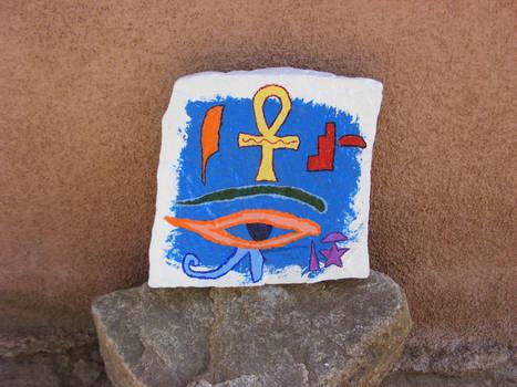 Egyptian Symbol Painting