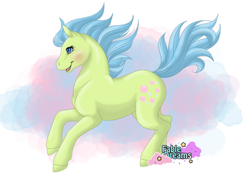 G1 MLP: Tootsie by DreamCrystalArt