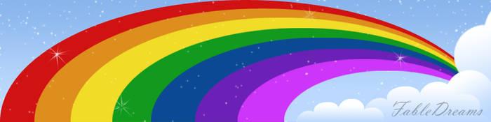 Just a Rainbow by DreamCrystalArt