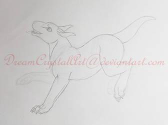 Chobbin Incomplete Sketch by DreamCrystalArt