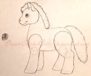 Cloverpatch Incomplete sketch by DreamCrystalArt