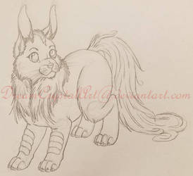 Critter Incomplete sketch by DreamCrystalArt