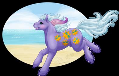 MLP G1: Shoreline's Beach Fun by DreamCrystalArt
