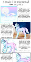 A History of SD-DreamCrystal by DreamCrystalArt