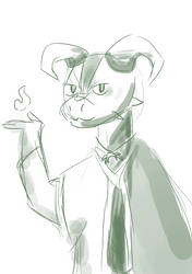 Julil Sketch Portrait by Blizzardpelt-21