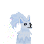 Onyx Pixel Portrait Commission for Running Riot! by Blizzardpelt-21