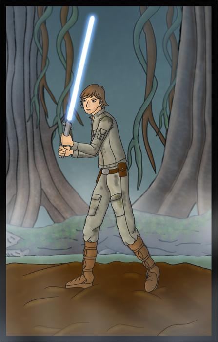 Luke Skywalker by Erikku8