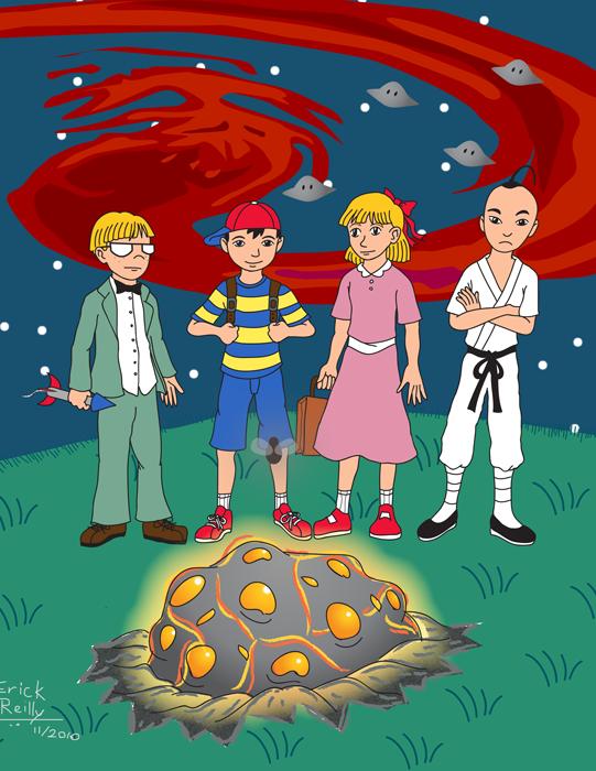 EarthBound Poster by Erikku8