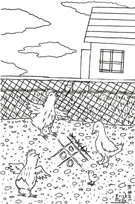 Chicken by Erikku8