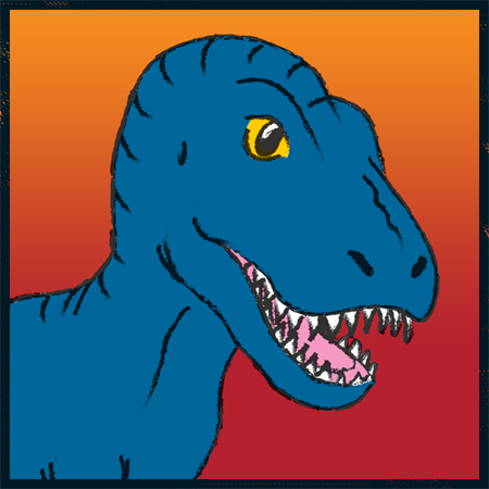 Tyrannosaurus rex by Erikku8