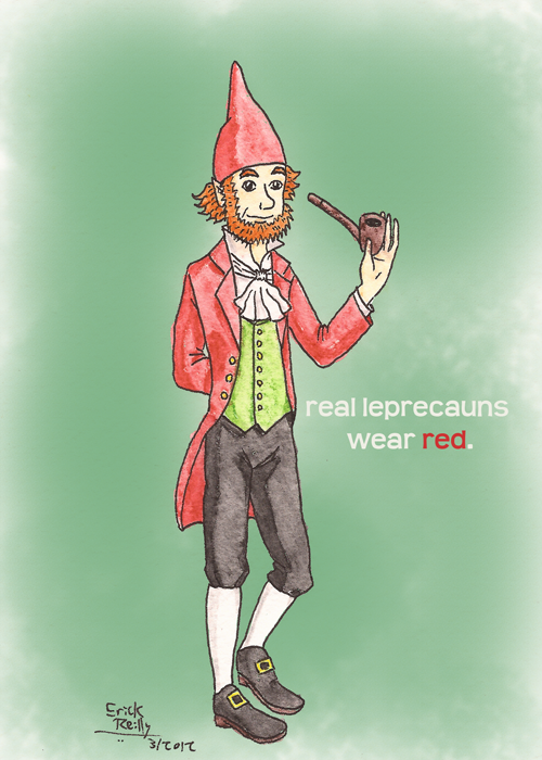 Red Leprecaun by Erikku8