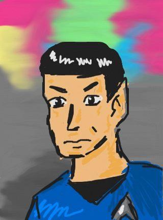 Mr. Spock by Erikku8