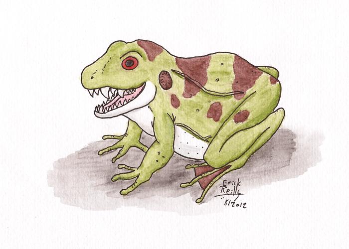 Fanged Frog by Erikku8