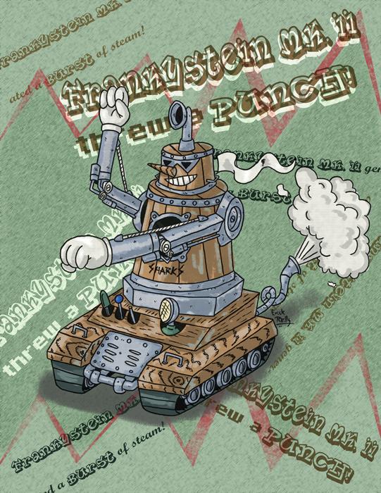 Frankystein Mark II by Erikku8