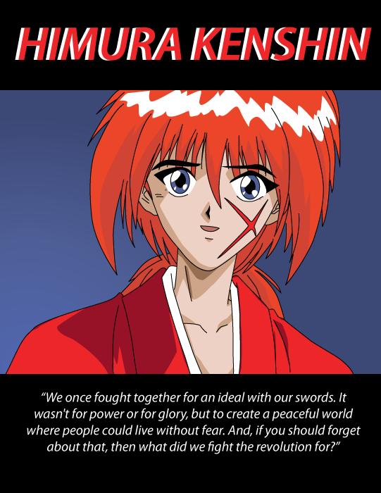 Kenshin Trace by Erikku8