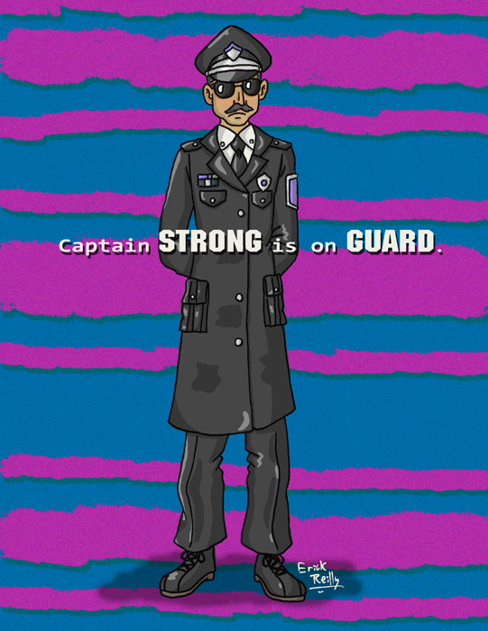 Captain Strong from EarthBound by Erikku8