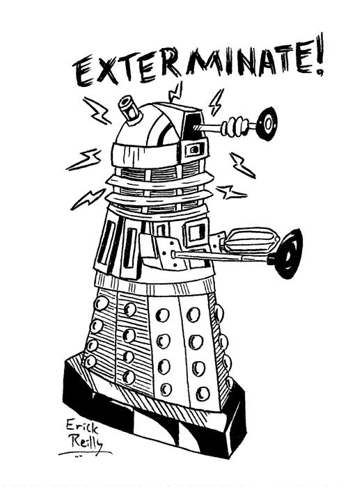Dalek by Erikku8