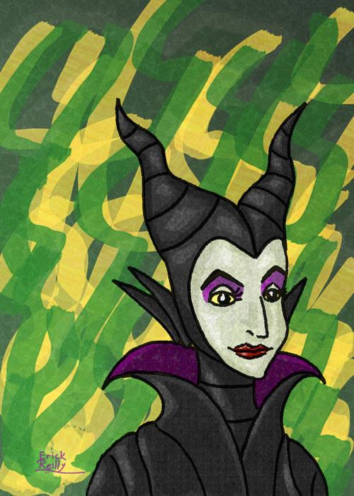 Maleficent from Disney's Sleeping Beauty by Erikku8
