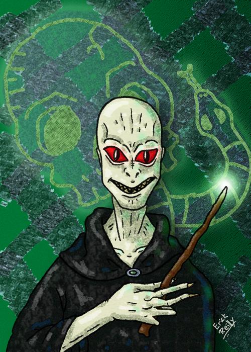 Lord Voldemort by Erikku8