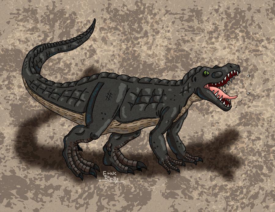 Megalosaurus by Erikku8