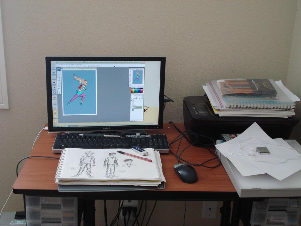 My Workstation by Erikku8