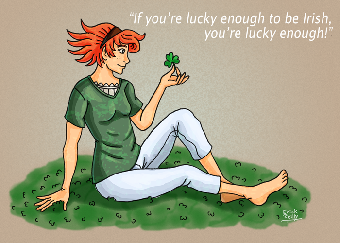 Irish by Erikku8