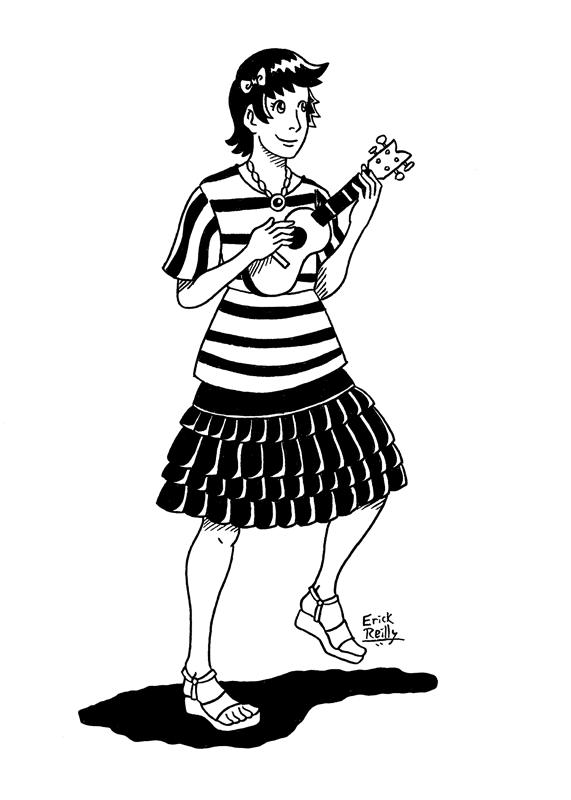 Ukulele Girl by Erikku8