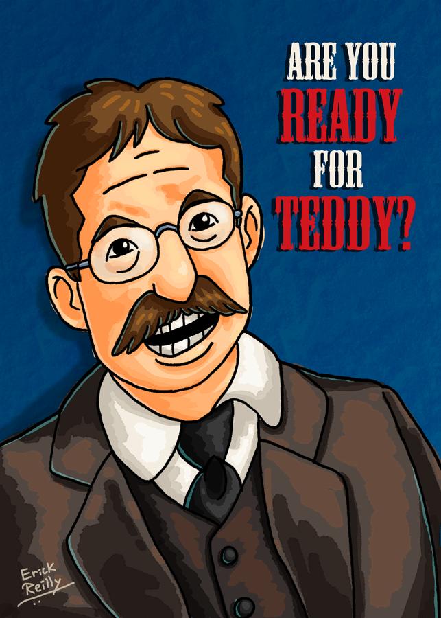 Teddy Roosevelt by Erikku8