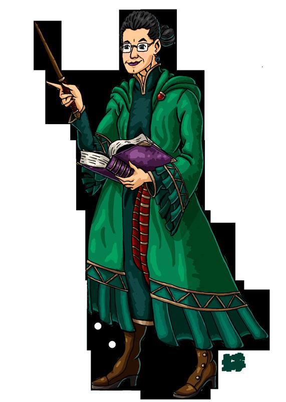 Professor McGonagall by Erikku8