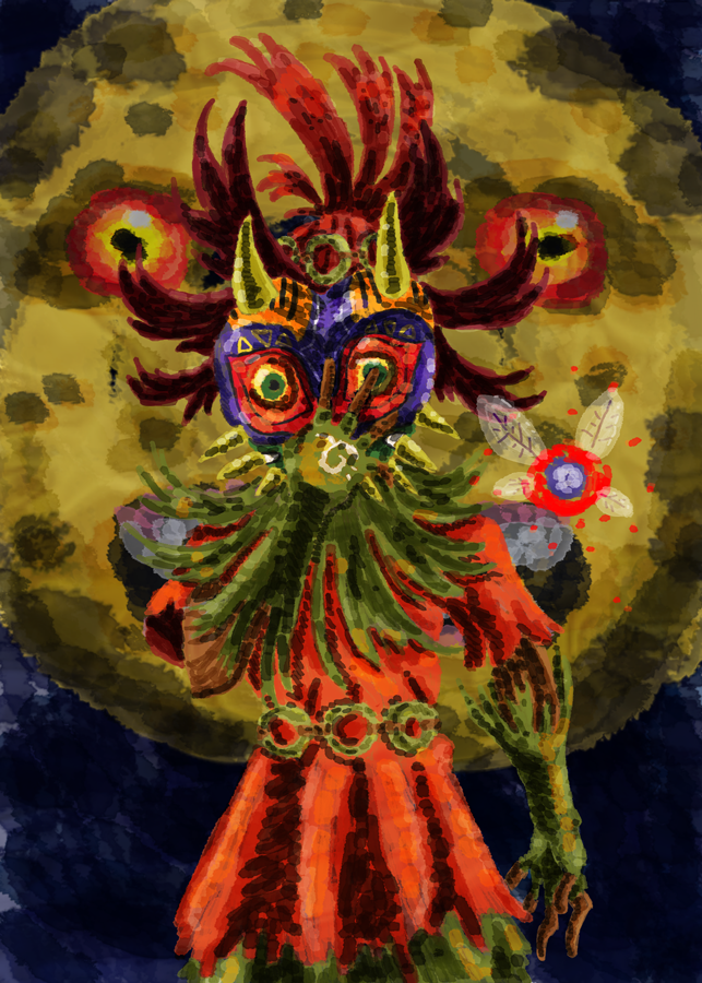 Skull Kid  from Majora's Mask by Erikku8