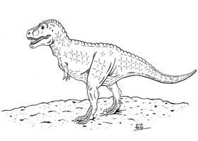 Prehistoric by erickreillyart